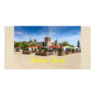 Tarjeta Parque San Diego California del balboa