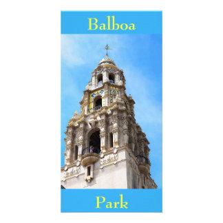 Tarjeta Parque San Diego California del balboa de la torre