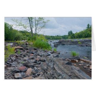 Tarjeta Parque y río de estado de Jay Cooke