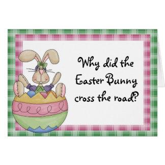 Tarjeta Pascua divertida