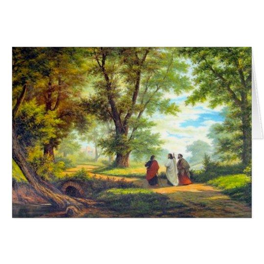 Tarjeta Paseo a Emmaus