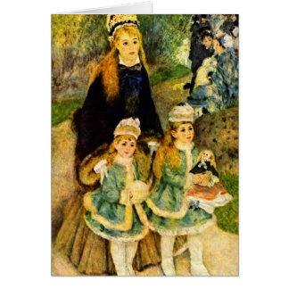 Tarjeta Paseo de Pedro Renoir