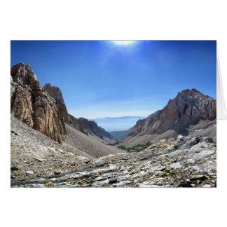 Tarjeta Paso de Taboose - Sierra