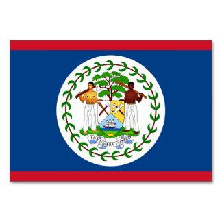 Tarjeta patriótica de la tabla con la bandera de