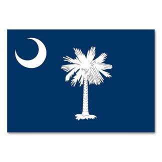 Tarjeta patriótica de la tabla con la bandera de C