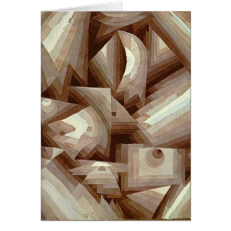 Tarjeta Paul Klee: Cristal