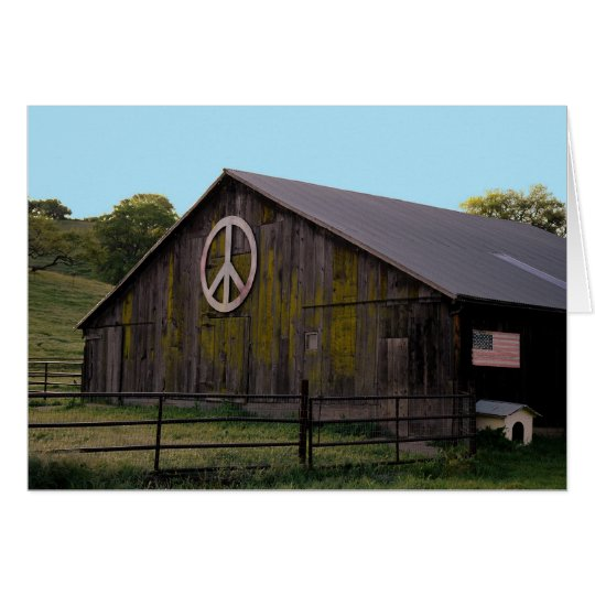 Tarjeta Paz en la tierra
