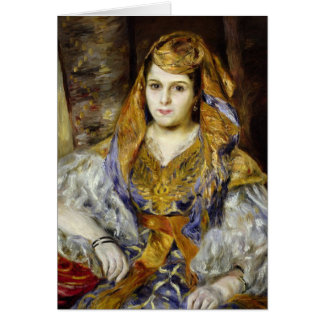 Tarjeta Pedro un Mme. C. Stora de Renoir el | en vestido