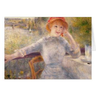 Tarjeta Pedro un Renoir el | A. Fournaise en el