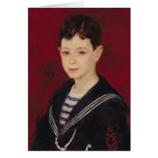 Tarjeta Pedro un retrato de Renoir el | de Fernando