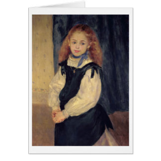 Tarjeta Pedro un retrato de Renoir el | del Mademoiselle