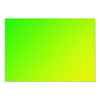 Tarjeta pendiente amarilla verde fluorescente