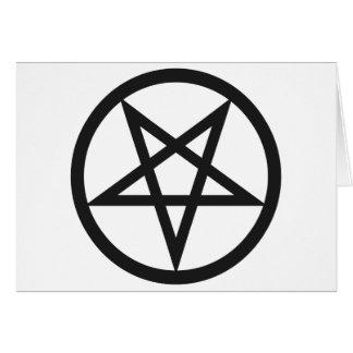 Tarjeta Pentagram intrépido