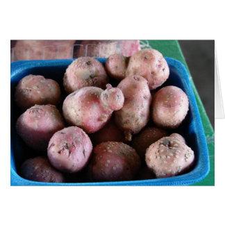 Tarjeta Pequeñas patatas