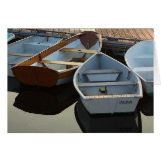 Tarjeta Pequeños barcos: Jazz