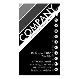 tarjeta perforada adaptable del color: (la compra tarjetas de visita