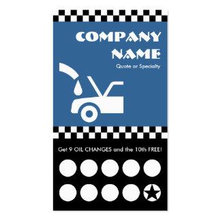 tarjeta perforada de los inspectores del cambio de tarjeta personal