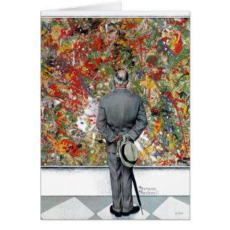 Tarjeta Perito del arte de Norman Rockwell
