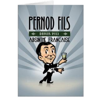 Tarjeta Pernod Fils