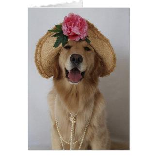 Tarjeta ¡Perro feliz!