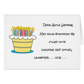 Tarjeta Personalice el saludo del feliz cumpleaños del
