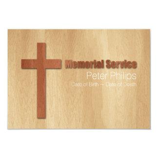 Tarjeta personalizada ceremonia conmemorativa invitación 8,9 x 12,7 cm