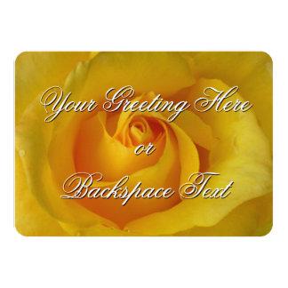 Tarjeta personalizada invitación color de rosa de invitación 11,4 x 15,8 cm