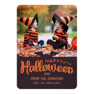 Tarjeta Personalizado 2017 del feliz Halloween