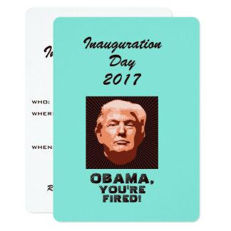 Tarjeta Personalizado de la inauguración 2017 del triunfo