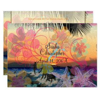 TARJETA PERSONAS QUE PRACTICA SURF EN SUNSET/HAWAII/DIY