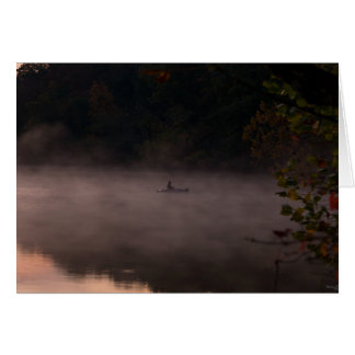 Tarjeta Pesca de niebla temprana