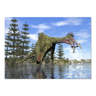 Tarjeta Pesca del dinosaurio del Deinocheirus - 3D rinden