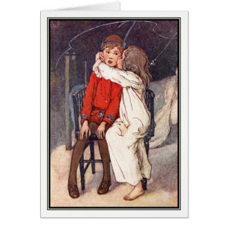 Tarjeta Peter Pan y Wendy de Alicia B. Woodward