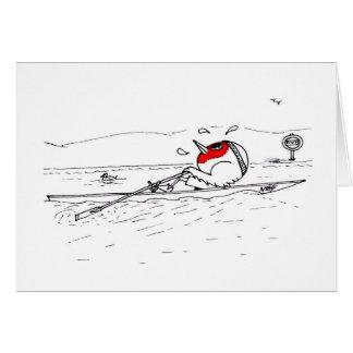 Tarjeta Petirrojo del Rowing