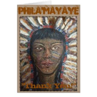 Tarjeta ¡Phila'mayaye le agradece!