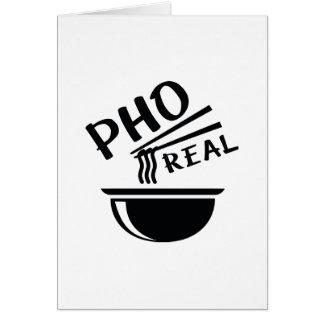 Tarjeta Pho real