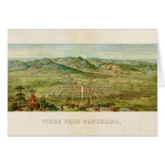 Tarjeta Pico de los lucios, Colorado Springs, Colorado