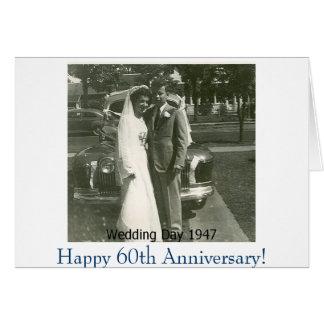 Tarjeta ¡Picture1, 60.o aniversario feliz!