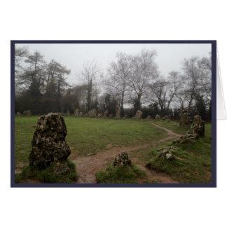 Tarjeta Piedras de Rollright (2)