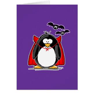 Tarjeta Pingüino del vampiro