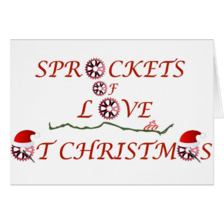 Tarjeta Piñones del navidad del amor