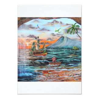 Tarjeta Pintura de Bell del chapucero de la ensenada del