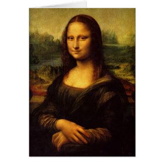 Tarjeta Pintura de Leonardo da Vinci Mona Lisa