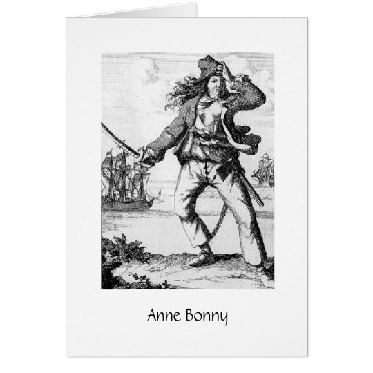 Tarjeta Pirata Anne Bonny