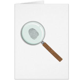 Tarjeta Pista de la huella dactilar