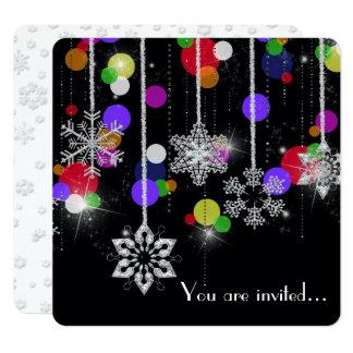 Tarjeta Planes del fiesta del invierno