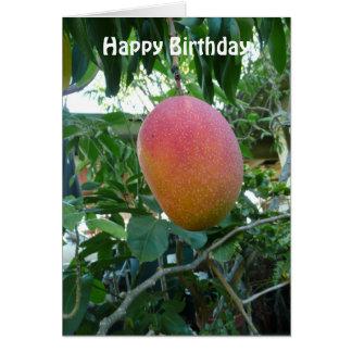 Tarjeta Plantilla personalizada fruta madura del