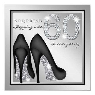Tarjeta Plata de la fiesta de cumpleaños de la sorpresa de