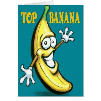Tarjeta Plátano superior