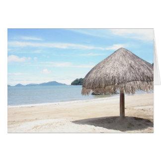 Tarjeta Playa Bonita, Panamá